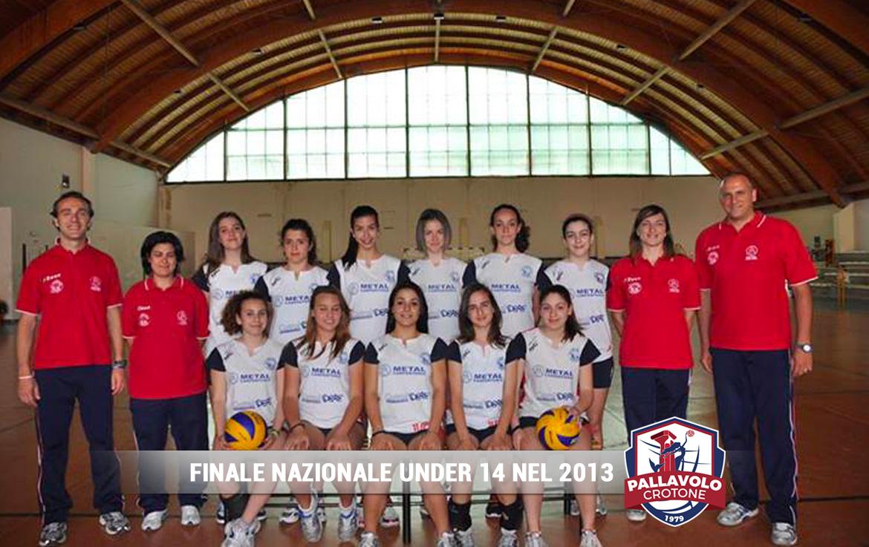 Finalista Nazionale Under 14 - 2013