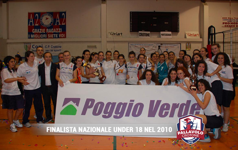 Finalista Nazionale Under 18 - 2010